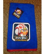 Angry Birds Star Wars LUKE SKYWALKER Kids Beach Towel Bath  NWT - $17.45