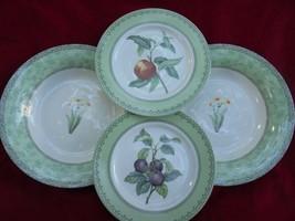 Andrea by Sadek Winterthur Johnson Brothers Soup Dinner Plates Set of 4 ... - $30.46
