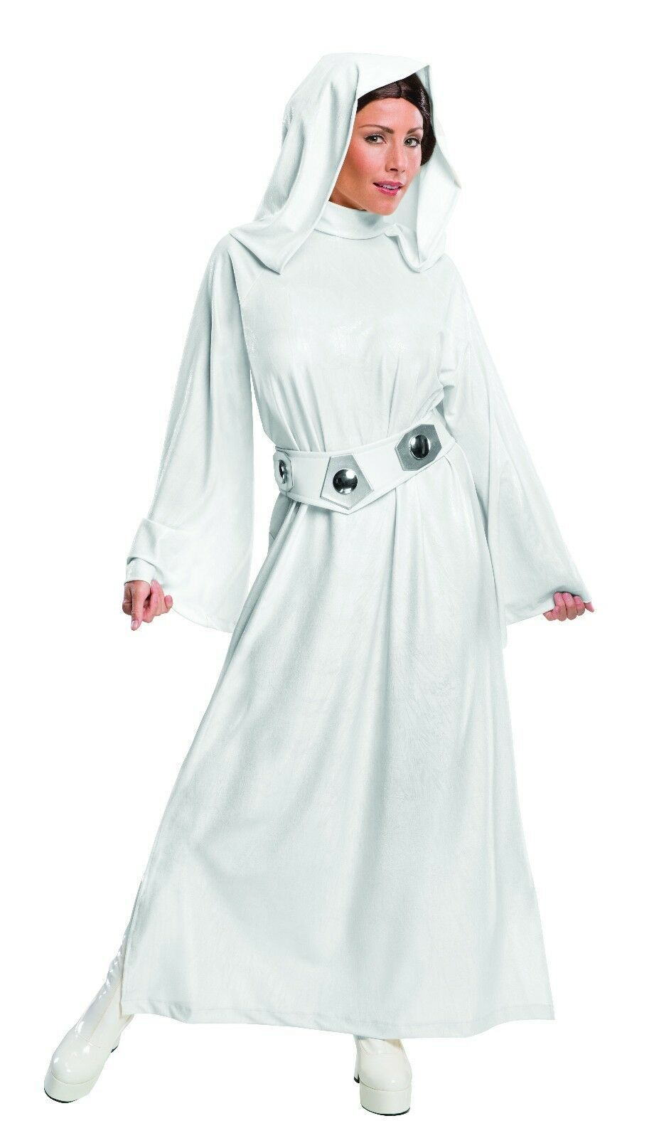Primary image for Rubies Princess Leia Hooded Star Wars Adult Womens Halloween Costume 810357