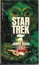 Star Trek 7 Paperback Book James Blish Bantam 1976 VERY FINE - $5.94