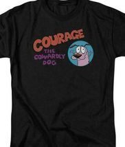 Courage the Cowardly Dog Retro 90's Animated TV cartoon series graphic tee CN471 image 3