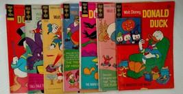 Lot of 7 old Walt Disney Donald Duck 1970's Gold Key comic books Free Ship - $19.49