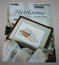Heirlooms Leisure Arts 650 Cross Stitch Pattern Book #17 Basket Paula Va... - $10.40