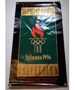 "1996 Atlanta Olympics Games 42"" x 24"" Vinyl Banner Authentic Collection - $85.49"