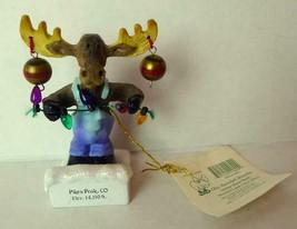 Mother Moose World Olie Yurselph Mooskin Pikes Peak Colorado Ornament - $14.36