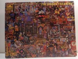 NEW The Disney Treasury Jigsaw Puzzle Golden 55... - $9.89