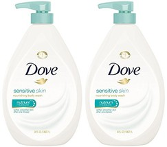 Dove Body Wash, Sensitive Skin Pump, 34 Ounce (Pack of 2) - $39.70