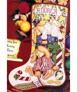 NO CORDING Janlynn Sleepy Bunnies Christmas Cross Stitch Stocking Kit 54... - $124.95