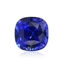 3.91Cts Royal Blue Sapphire Loose Gemstone Cushion  Cut GRS  Certificate - $13,642.20