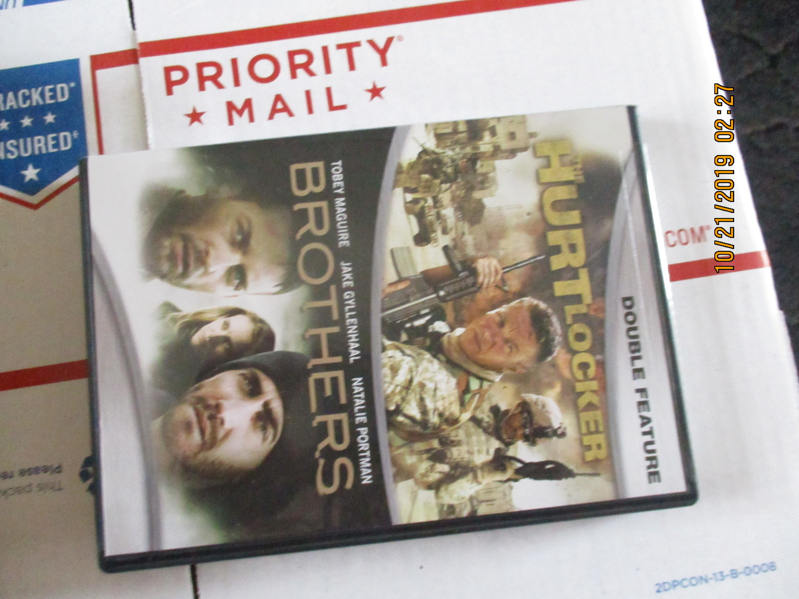 Double Feature: The Hurt Locker and Brothers DVD