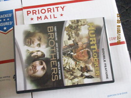 Double Feature: The Hurt Locker and Brothers DVD  - $6.99