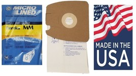 20 Eureka Style MM Mighty Mite Canister Vacuum Bags 60295B 60296 MADE IN... - $14.99