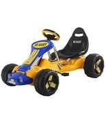 Costzon Go Kart, 4 Wheel Ride on Car, Pedal Powered Ride On Toys for Boy... - $80.01