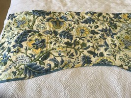 WAVERLY Long VALANCE 78 x 21 Curtain  Scallop  Imperial Dress, Lined.  (... - $25.74