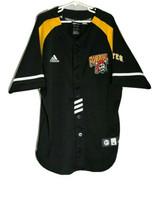Pittsburgh Pirates Black Adidas MLB Boy's Warmup Baseball Jersey Size M - $16.72