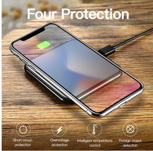 Aluminum Alloy Wireless Charger 10W Fast Charging  - $26.00