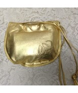 Authentic Loewe, Spain Gold Genuine Leather Hand Bag-Crossbody 10in x 8i... - $185.20