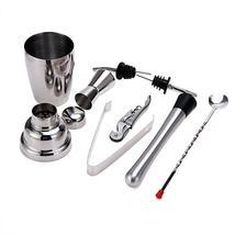Cocktail Set Bartender Kit Stainless Steel Shaker Mixer Drink Wine Tools - €55,88 EUR