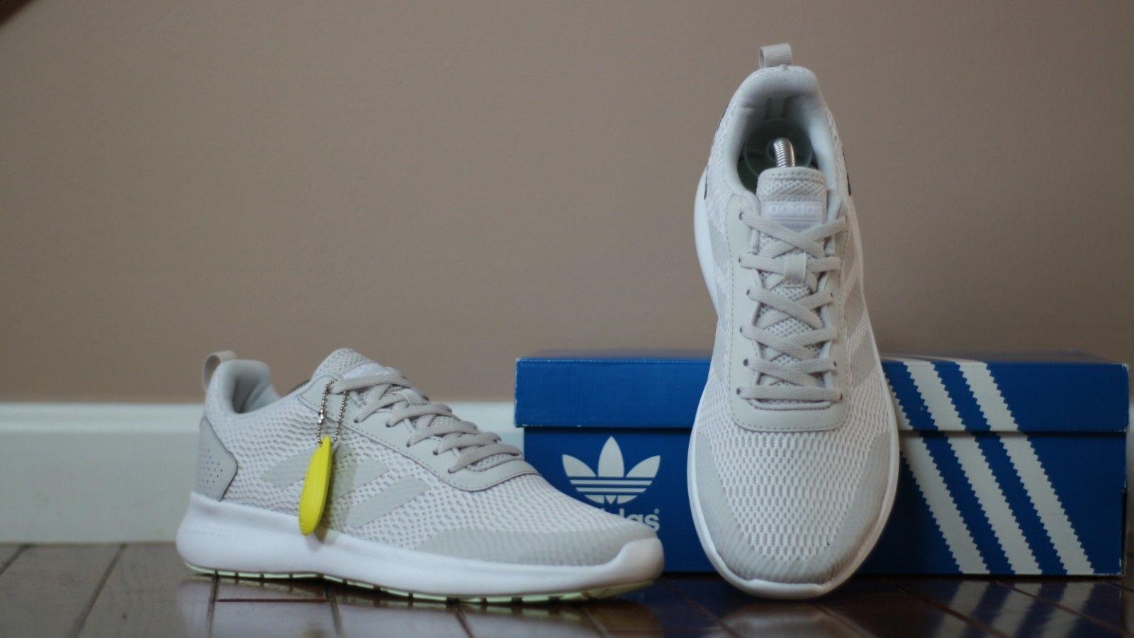 pretty nice 41f7c 49838 Adidas Womens Size 10 Cloudfoam Element Race Running Shoe DB1482 Grey