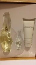 Donna Karan Cashmere Mist 3.4 Oz Eau De Parfum Spray 3 Pcs Gift Set image 1