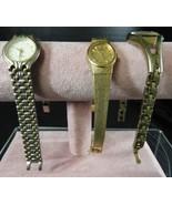 Three Lady's Vintage Wristwatches * Seiko * Phillipe Amrel * Timex - $21.27