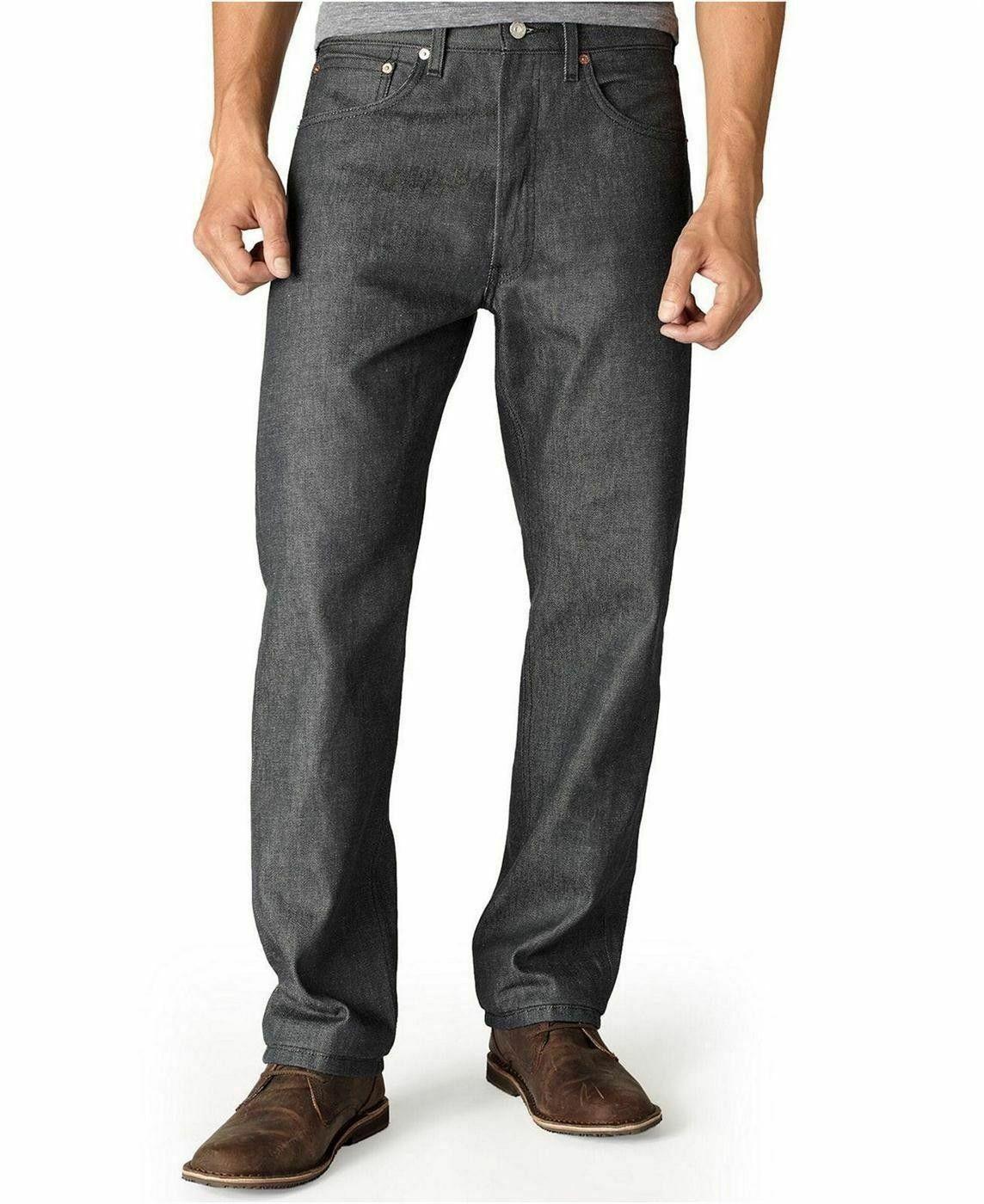 Levi's 501 Men's Original Fit Straight Leg Jeans Button Fly 501-0987