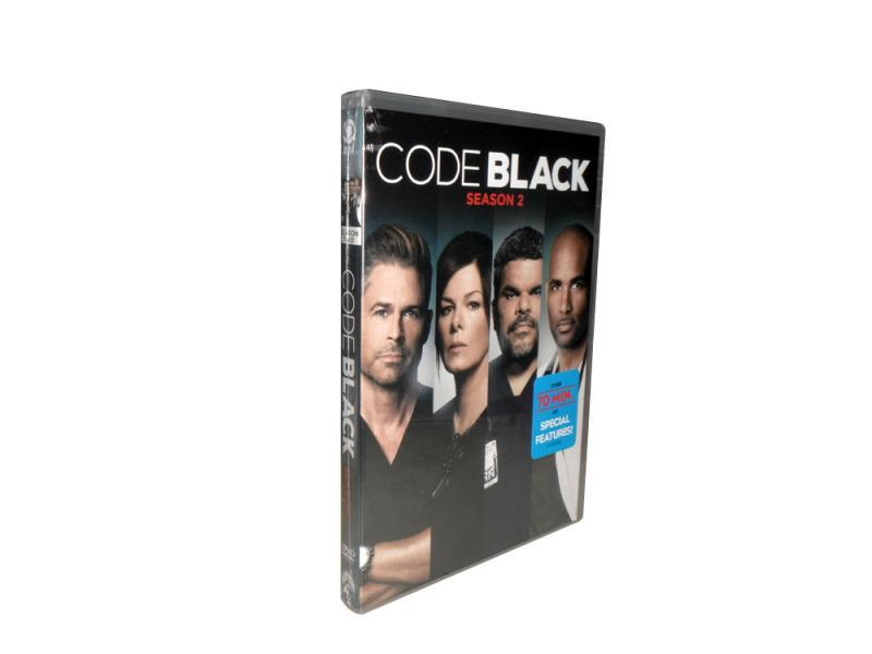 Code Black The Complete Second Season 2 DVD Box Set 5 Disc Free Shipping