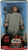 """Star Wars Qui-Gon Jinn 12"""" Collectible Action Figure Episode 1 Fast Free... - $29.99"""