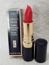 Avon Perfect Wear VALENTINE (W2) Double Performance Lipstick .13 oz/3.6g New - $14.84