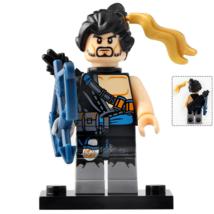 Shimada Hanzo Mercenary Archers Overwatch Universe Lego Minifigures Toy ... - $2.99
