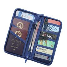 Casual Function Passport Holder Solid Travel Accessories Passport Cover ... - $36.00