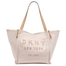 DKNY Courtney Logo Large Canvas Tote, Iconic Blush $168 - $67.50