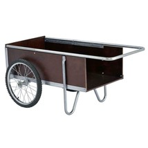 Garden Beautification Tool Six Cubic Foot Yard Cart with Tubular Steel H... - $154.99