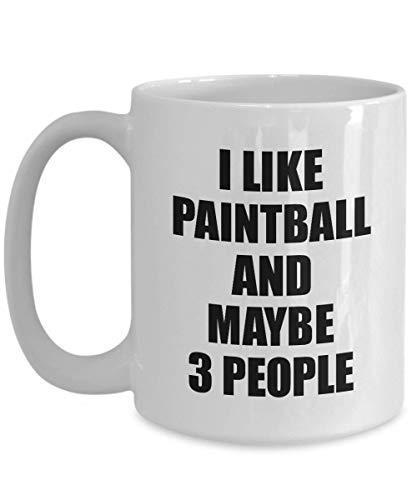 Primary image for Paintball Mug Lover I Like Funny Gift Idea for Hobby Addict Novelty Pun Coffee T