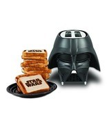 Star Wars Darth Vader Best Toaster Oven Slice Breakfast kitchen Bakes Brave - £63.36 GBP