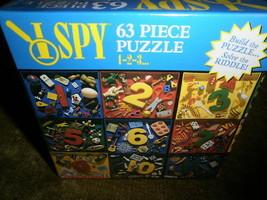 New TOY/PUZZLE Sale 1 Spy 63 Piece PUZZLE- 1-2-3 - $5.64