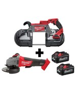 Milwaukee M18 FUEL 18-Volt Lithium-Ion Brushless Cordless Deep Cut Band Saw and  - $494.87