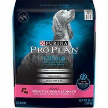 Premium Purina Pro Plan FOCUS Sensitive Skin & Stomach Adult Dry Dog Foo... - $59.83