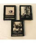 Fleetwood Mac 8 Track Tapes Lot of 3 Tusk Future Games Fleetwood Mac Liv... - $27.99