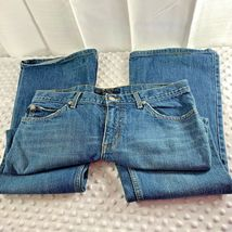 Juicy Couture Sz 31 Womens Jean Straight Leg image 3