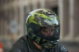 2X Fly Racing Sentinel Ambush Motorcycle Helmet Camo/Green/Grey DOT & ECE  image 6
