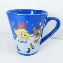 Zak Rudolph The Red Nosed Reindeer Mug Cup Christmas 10 oz - $13.42