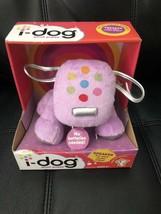 "i-Dog Plush Puppy Mini Speaker by Hasbro-Pink 8"" Plush Puppy/Dog! New in... - $55.57"