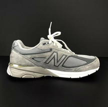 NEW BALANCE 990 Encap Men's Size 13 Gray & White Running Sneaker Made USA - $108.90