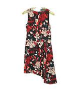 Worthington Womens Dress Sleeveless Size 8 Black Red Pink Floral Montpel... - $52.42