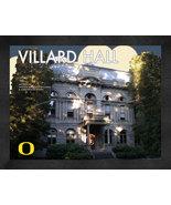 "Oregon University ""Villard Hall"" 13 x 16 Art Deco Framed Print  - $39.95"