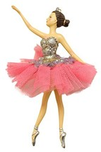 "Christmas Decoration 6.5"" Ballerina Christmas Tree Ornament (4 Styles) (Brunette - $17.77"