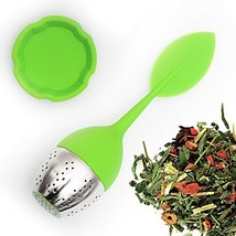 SILICONE TEA INFUSER with Drip Tray and Floating Handle by Teami Blends ... - £9.14 GBP