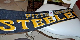 Pittsburgh Steelers winter scarf NWT - $13.50