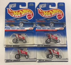 Lot of 4 - 1998 First Editions EXPRESS LANE RED C - $7.99